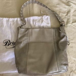 Brighton silver leather purse and wallet
